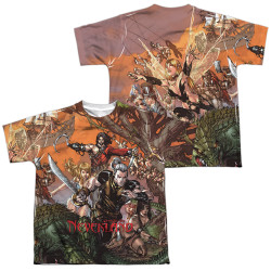 Image Closeup for Zenescope Sublimated Youth T-Shirt - Neverland