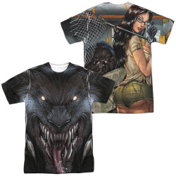 Image Closeup for Zenescope Sublimated T-Shirt - Werewolf