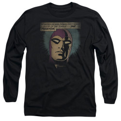 Image for The Phantom Long Sleeve Shirt - Evildoers Beware