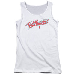 Image for Ted Nugent Girls Tank Top - Clean Logo