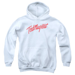 Image for Ted Nugent Youth Hoodie - Clean Logo