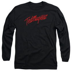 Image for Ted Nugent Long Sleeve Shirt - Distress Logo