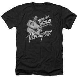 Image for Ted Nugent Heather T-Shirt - Madman
