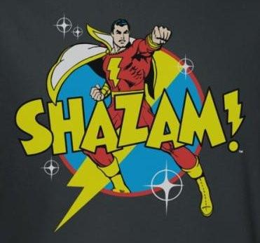 Image for Captain Marvel Power Bolt T-Shirt