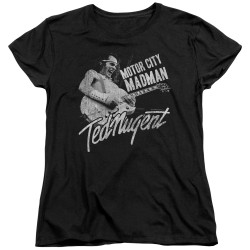 Image for Ted Nugent Womans T-Shirt - Madman