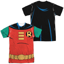 Batman the Animated Series Sublimated T-Shirt - Robin Costume