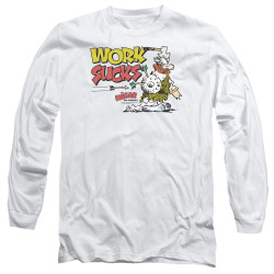 Image for Hagar The Horrible Long Sleeve Shirt - Work Sucks
