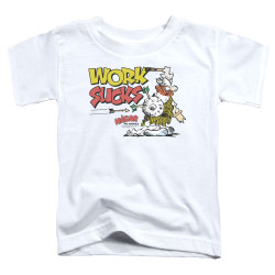 Image for Hagar The Horrible Toddler T-Shirt - Work Sucks