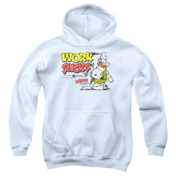Image for Hagar The Horrible Youth Hoodie - Work Sucks