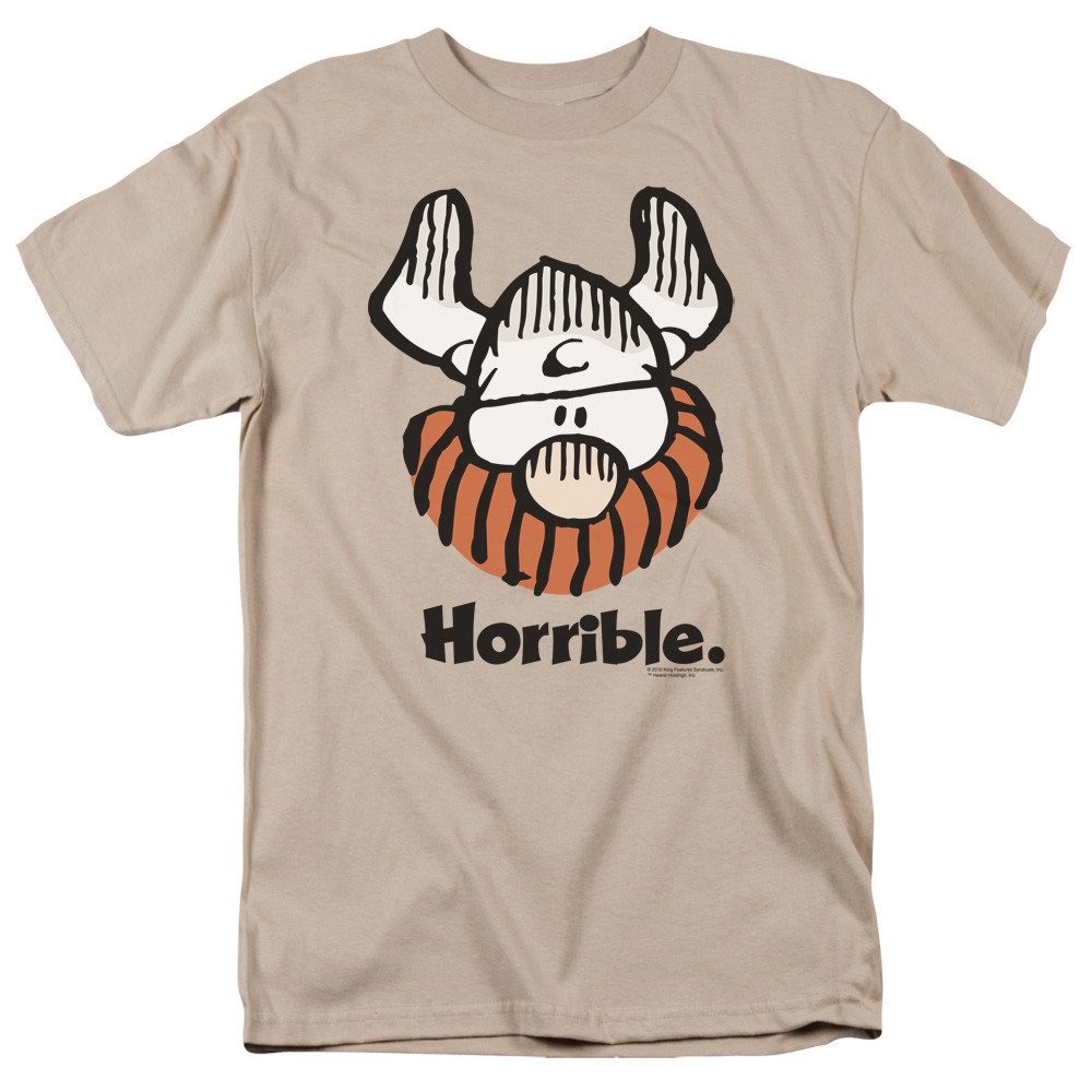 58378cf71b0afc Hagar The Horrible T-Shirt - Horrible - NerdKungFu