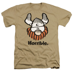Image for Hagar The Horrible Heather T-Shirt - Horrible
