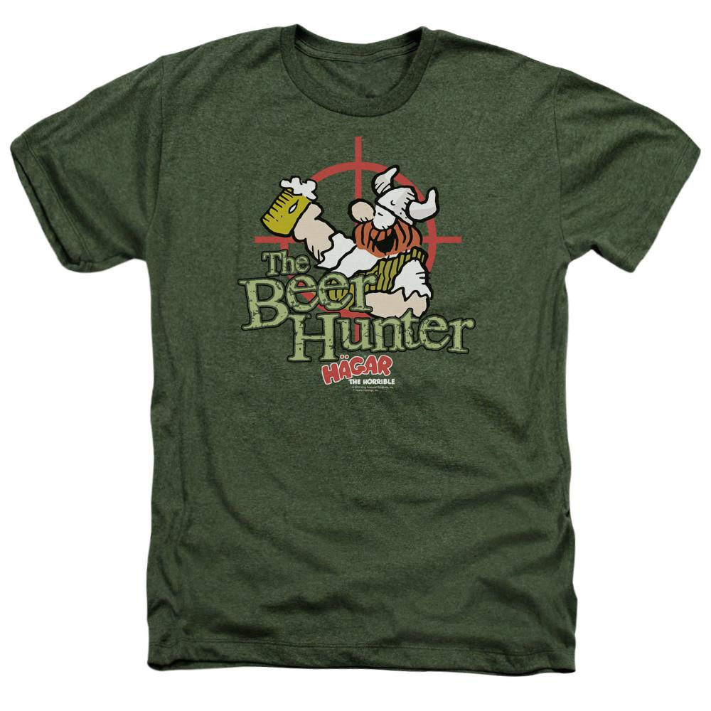 f573e1001 Hagar The Horrible Heather T-Shirt - Beer Hunter - NerdKungFu