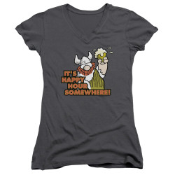 Image for Hagar The Horrible Girls V Neck - Happy Hour