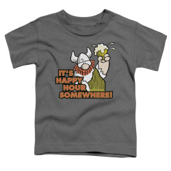 Image for Hagar The Horrible Toddler T-Shirt - Happy Hour
