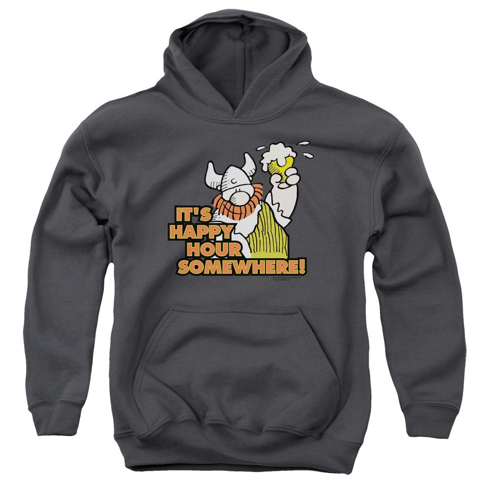 b6294df08 Hagar The Horrible Youth Hoodie - Happy Hour - NerdKungFu