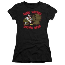 Image for Hagar The Horrible Girls T-Shirt - Save Water Drink Beer