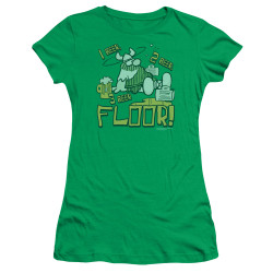 Image for Hagar The Horrible Girls T-Shirt - 1 2 3 Floor