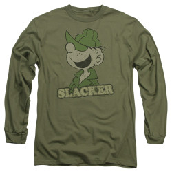 Image for Beetle Bailey Long Sleeve Shirt - Slacker