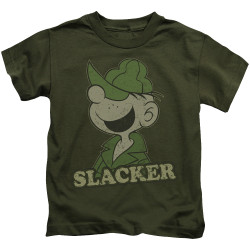 Image for Beetle Bailey Kids T-Shirt - Slacker