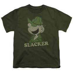 Image for Beetle Bailey Youth T-Shirt - Slacker
