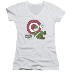 Image for Beetle Bailey Girls V Neck - Target Nap