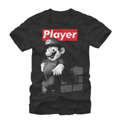Image for Mario Bros Player T-Shirt