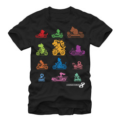 Image for Mario Bros MarioKart Racers T-Shirt