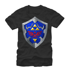 Image for Legend of Zelda Simple Shield T-Shirt