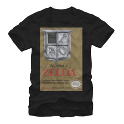 Legend of Zelda NES Cover T-Shirt