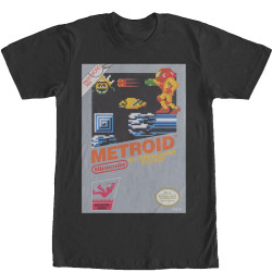 Image for Nintendo Vintage Metroid T-Shirt