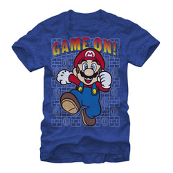 Image for Mario Bros Game On! T-Shirt