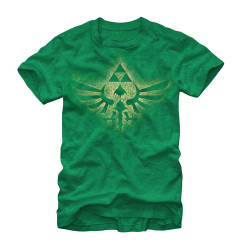 Image for Legend of Zelda Soaring Triforce T-Shirt