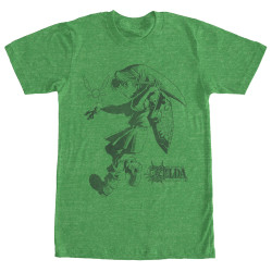 Image for Legend of Zelda Link Liner T-Shirt