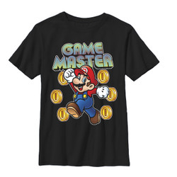 Mario Bros Youth T-Shirt - Game Master