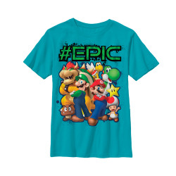 Image for Legend of Zelda Youth T-Shirt - Being Epic