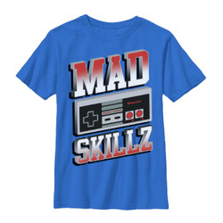 Image for Nintendo Youth T-Shirt - Mad Skillz