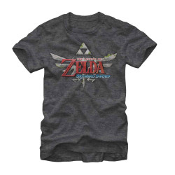 Image for Legend of Zelda Skyward Heather T-Shirt
