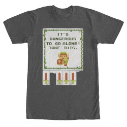 Image for Legend of Zelda Take This Heather T-Shirt