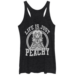 Image for Mario Bros Womens Tank Top - Just Peachy