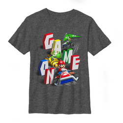 Image for Mario Bros Youth T-Shirt - Speeders