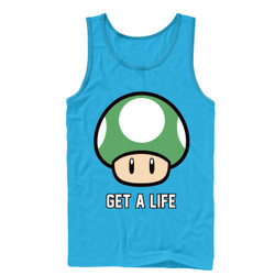 Image for Mario Bros Get a Life Tank Top