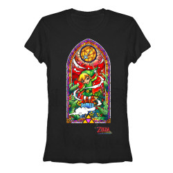 Image for Legend of Zelda Juniors T-Shirt - Wind Walker Window