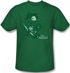 Image Closeup for Green Arrow the Emerald Archer T-Shirt