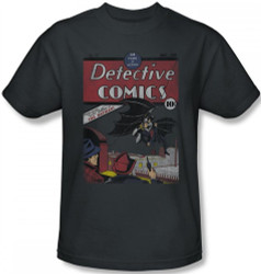 Image Closeup for Batman T-Shirt - Detective #27 Distressed