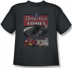 Image for Batman Youth T-Shirt - Detective #27 Distressed