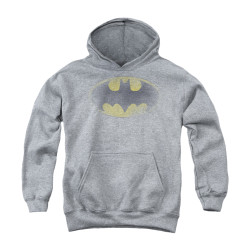 Image for Batman Youth Hoodie - Faded Logo