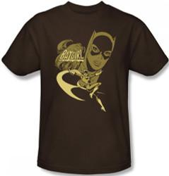 Image for Batgirl Flying Batgirl T-Shirt