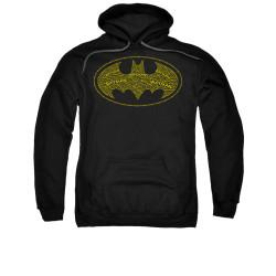Image for Batman Hoodie - Type Logo