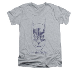 Image for Batman V Neck T-Shirt - I'm Batman