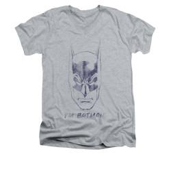 Image for Batman V Neck T-Shirt - I'm Batman